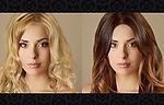 Фото 2: Хоть оттенок волос слева и является теплым, это не значит, что он будет лучшим для этой девушки
