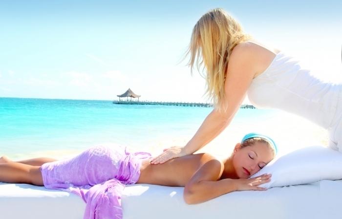 Гидромассаж, пилинг, обертывание и массаж