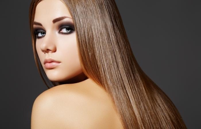 Ламинирование волос бесцветное