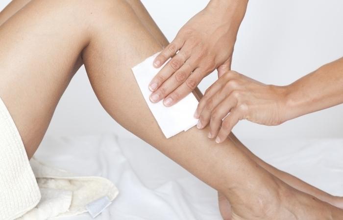 Эпиляция восковая голени