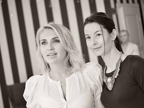 Белла Скляр, управляющий директор сети салонов Celebrity, и Мизунова Ирина, управляющий royalbeauty.ru